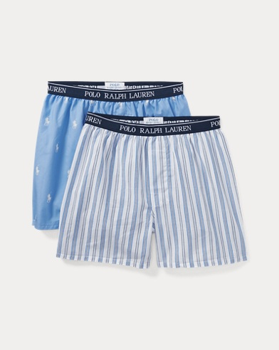 Woven Cotton Boxer 2-Pack