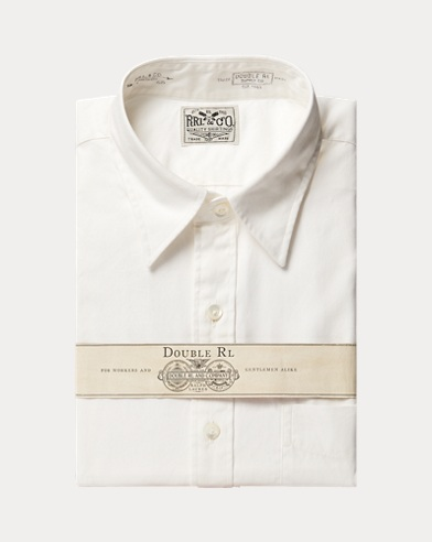 Cotton Oxford Dress Shirt