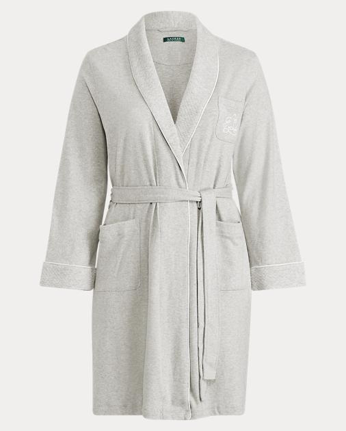 Lauren Woman Short Shawl-Collar Robe 1 2fd3413cc