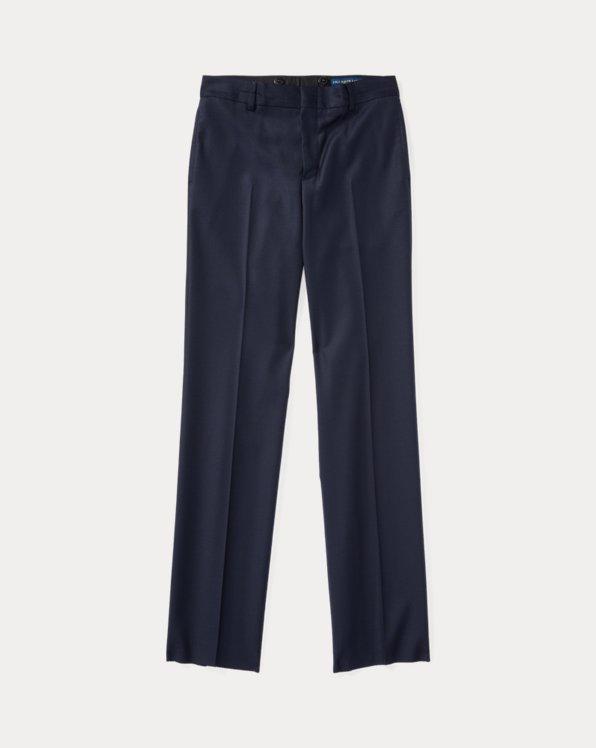 Pantalon en sergé de laine