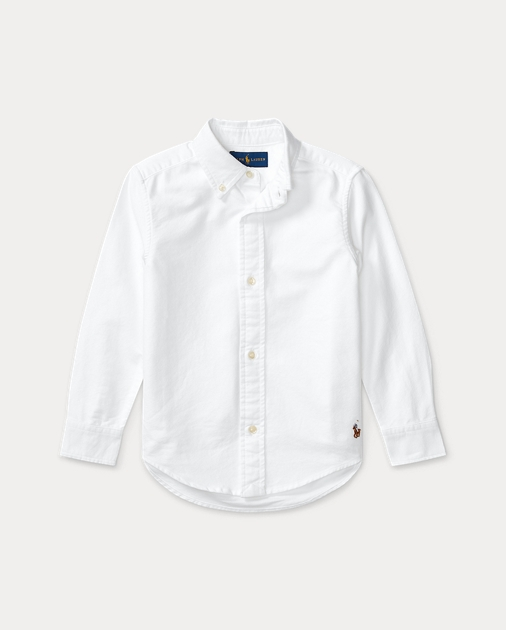 f2f2aa075 Blake Cotton Uniform Shirt | Long Sleeve Casual Shirts | Ralph Lauren