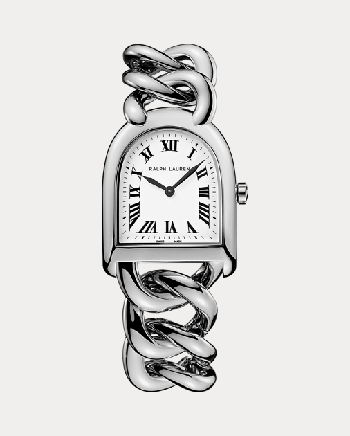 Petite-Link Steel   Stirrup Collection Watches Grids   Ralph Lauren 2ea9ac09473