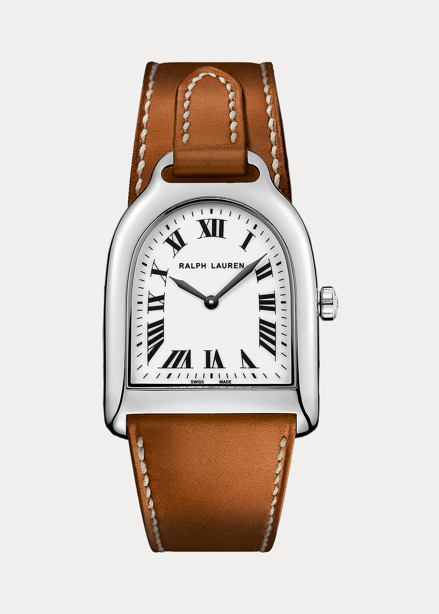The Stirrup Collection Small Steel Watch 1