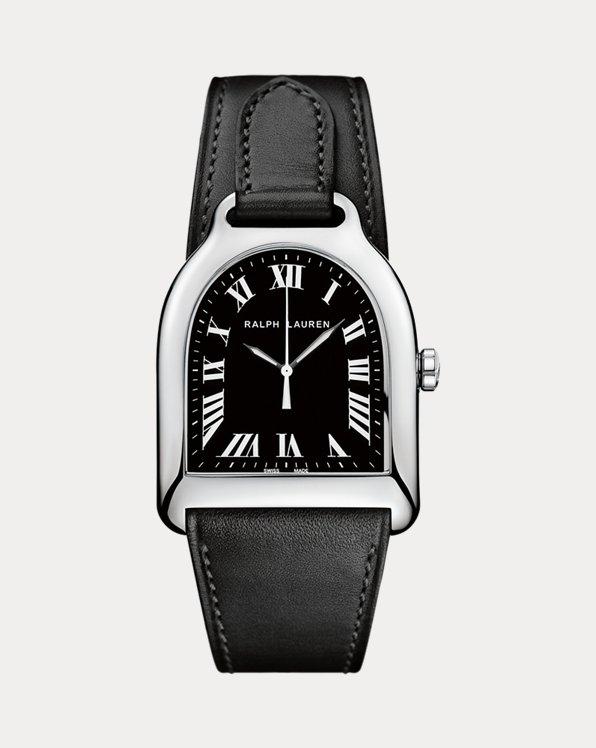 Medium Steel Black Dial