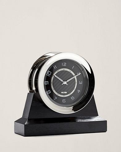 Carbon Fibre-Dial Byron Clock
