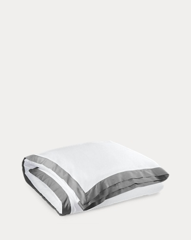 Grey Langdon Duvet Cover