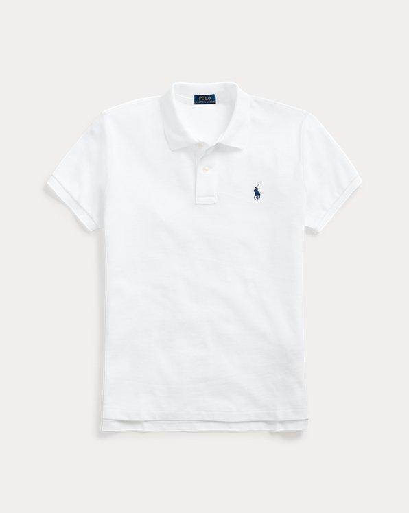Classic Fit Mesh Polo Shirt