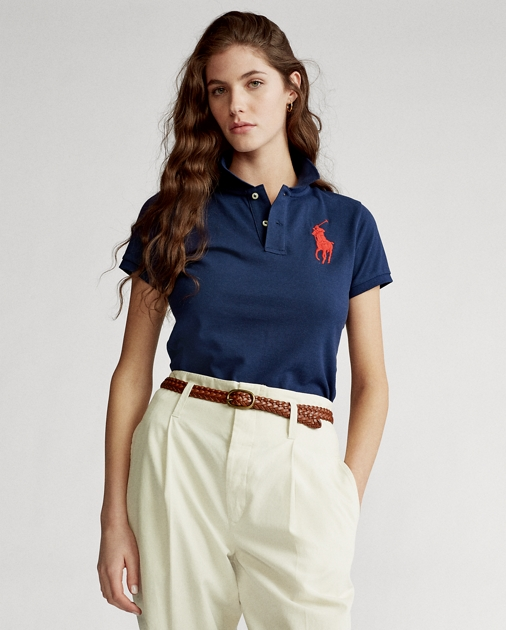 Save 30% on Skinny Fit Big Pony Polo Shirt from Polo Ralph Lauren