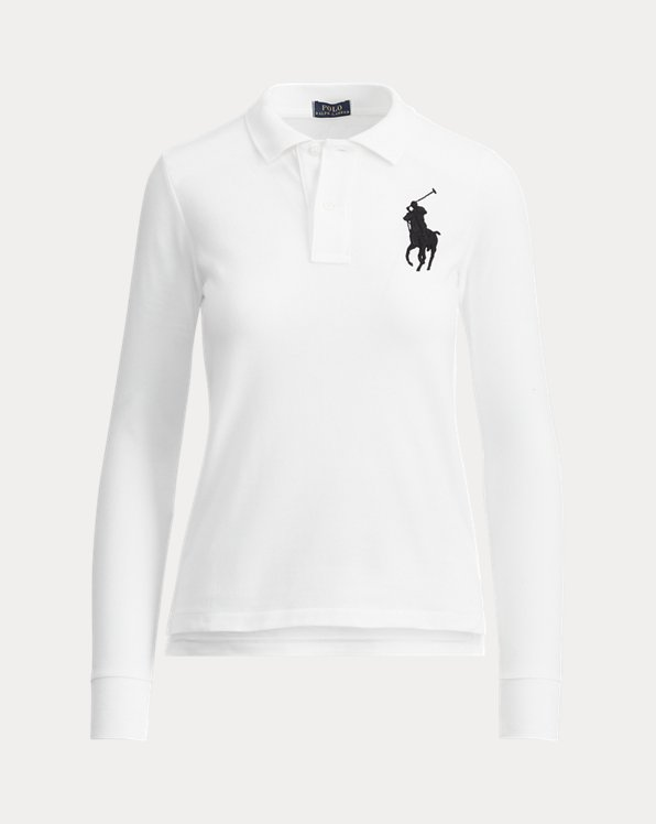 Skinny Fit Big Pony Polo
