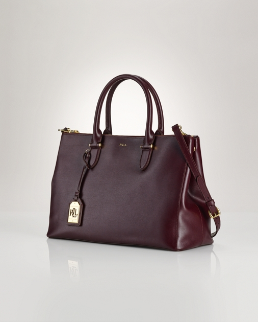 32943bf8ffa3 Lauren Newbury Double-Zip Satchel 1