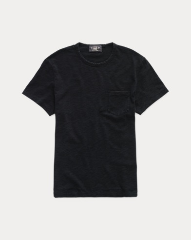Indigo Cotton Jersey Tee