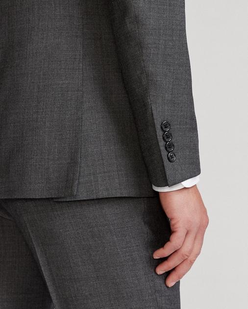 854e8daf83 Polo Wool Sharkskin Suit