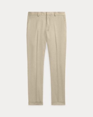 폴로 랄프로렌 울 트윌 팬츠 (슬림핏) - 탠 Polo Ralph Lauren Slim Fit Wool Twill Trouser 265359
