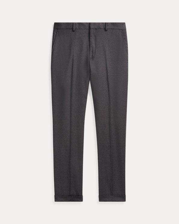 Slim Fit Wool Twill Trouser