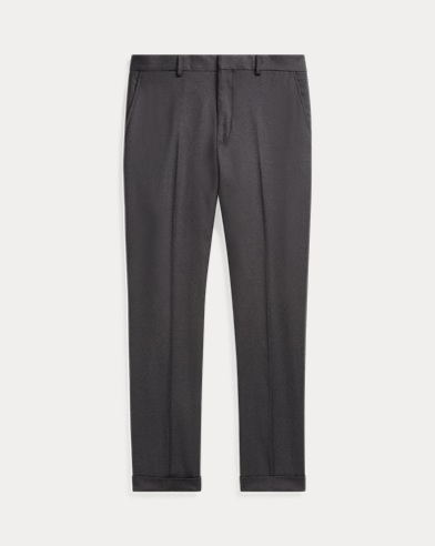 Slim Fit Wool Twill Trouser