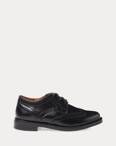 Leather Wingtip Oxford Shoe