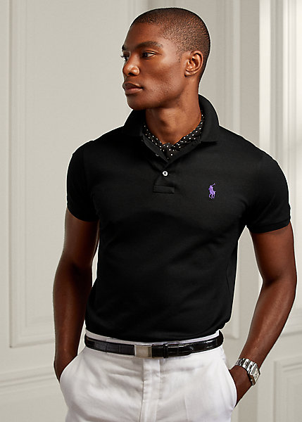 Polo RalphLauren Custom Slim Fit Piqué Polo Shirt