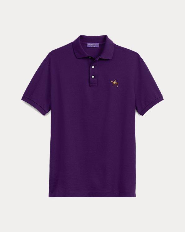 Custom Slim Fit Pique Polo Shirt