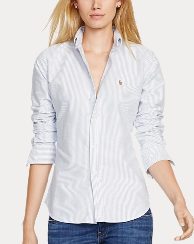 Women's Cotton Oxford Shirt