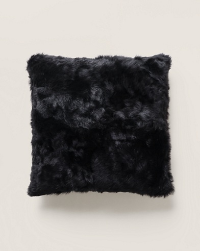Brighton Black Throw Pillow