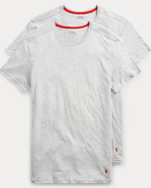 Polo Ralph Lauren Supreme Comfort T Shirt 2 Pack 1