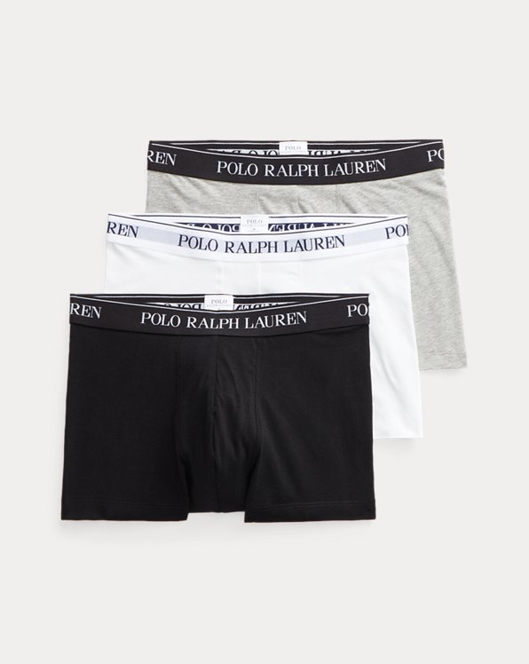 Lot de 3 boxers coton stretch