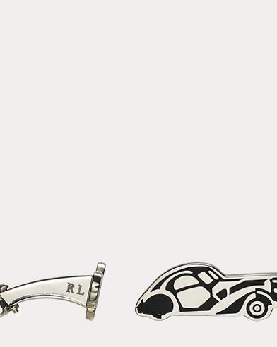 Vintage-Car Cuff Links