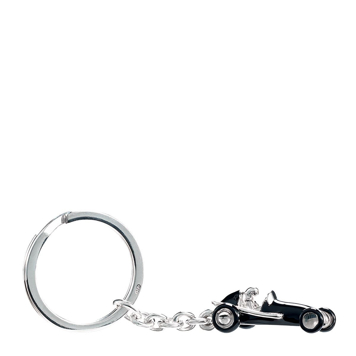 Silver Arrows Racing Car Keyring Pendant in Presentation Gift Box Philippi