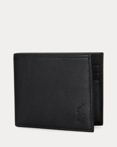 Leather Lauren CardholdersRalph Walletsamp; Men's Uk Designer E92YHIWD