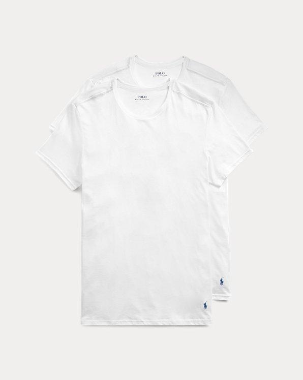 Rundhals-T-Shirt im 2er-Pack