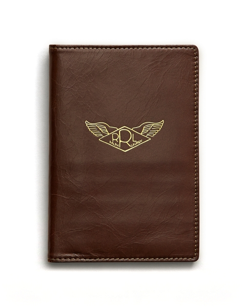 0350591111 RRL Leather Passport Cover 1