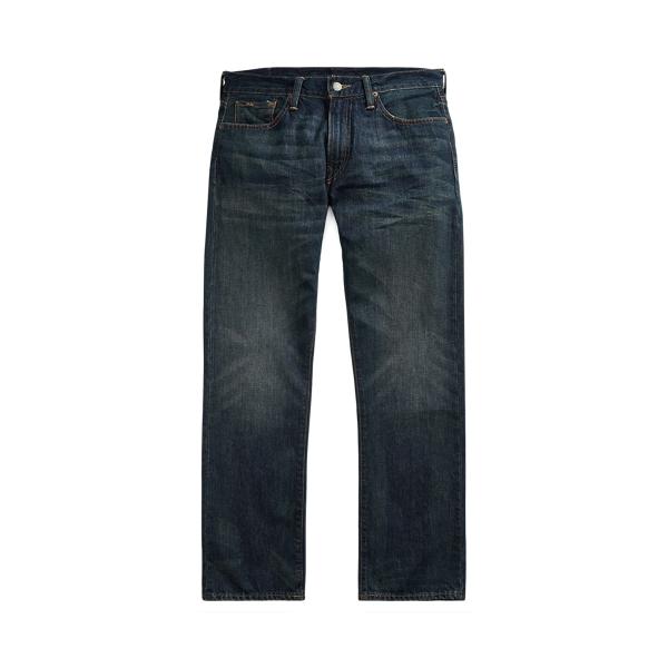 폴로 랄프로렌 Polo Ralph Lauren Hampton Relaxed Straight Jean,Dark Indigo