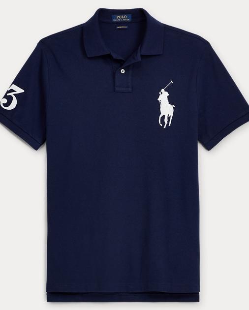 d1410149fad Polo Ralph Lauren Slim-Fit Big Pony Polo Shirt 1