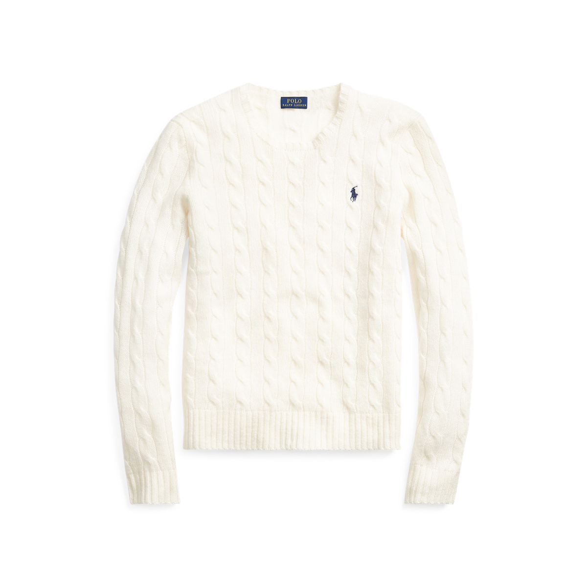 044ae48af3bc84 Cable Wool Crewneck Sweater