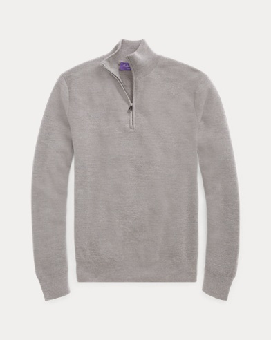 Piqué Merino-Cashmere Sweater