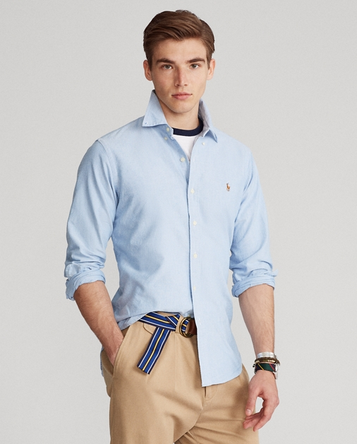 beac73198c13 Polo Ralph Lauren Classic Fit Oxford Shirt 1