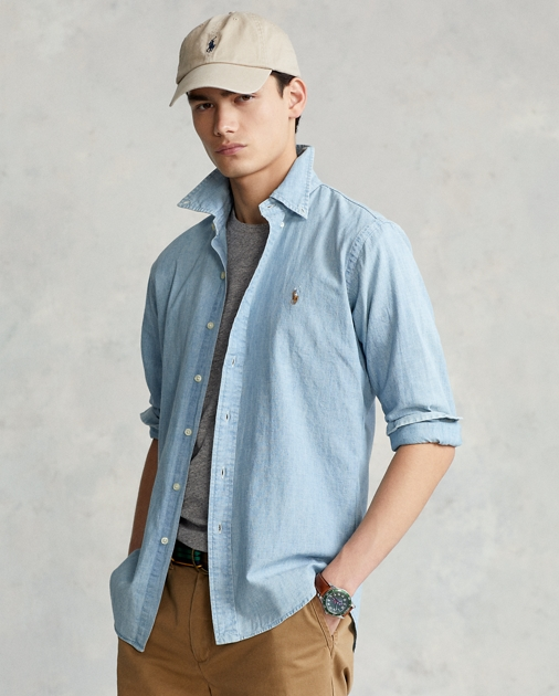 39254c30b2 Polo Ralph Lauren Classic Fit Chambray Shirt 1