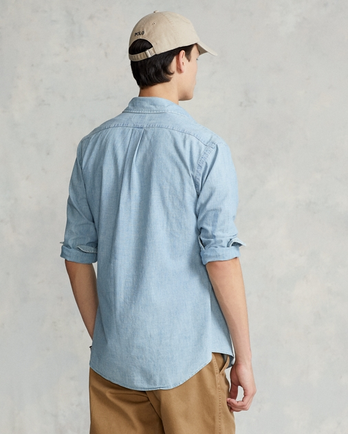 466e632e Classic Fit Chambray Shirt | Classic Fit Casual Shirts | Ralph Lauren