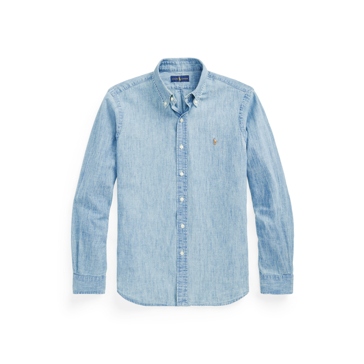 696a12a6a Classic Fit Chambray Shirt | Classic Fit Casual Shirts | Ralph Lauren