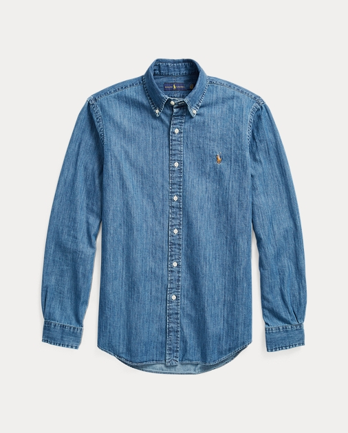 ef4895b7c8 Polo Ralph Lauren Classic Fit Denim Shirt 2