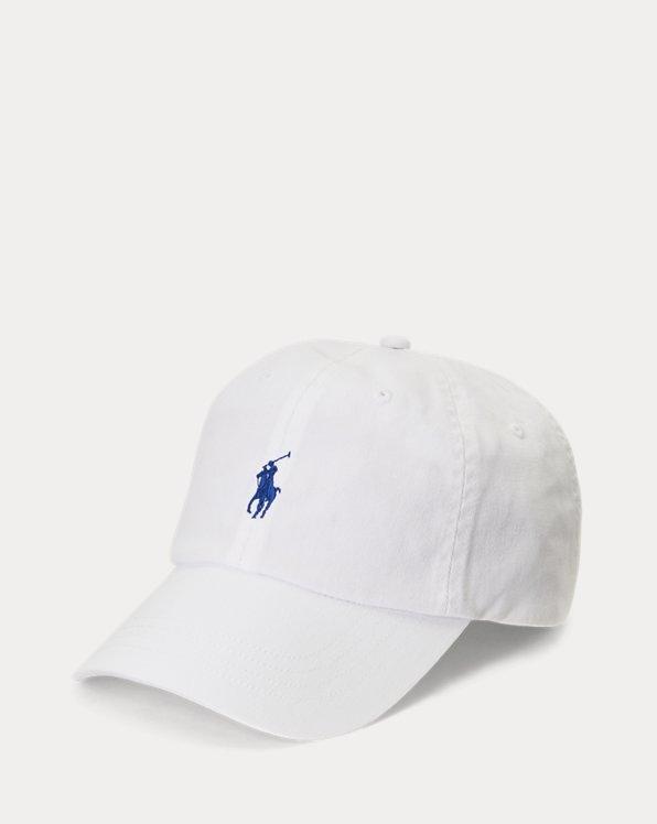 Gorra con visera de tela de chino de algodón