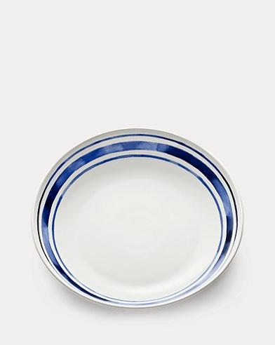 Côte d'Azur Striped Large Bowl
