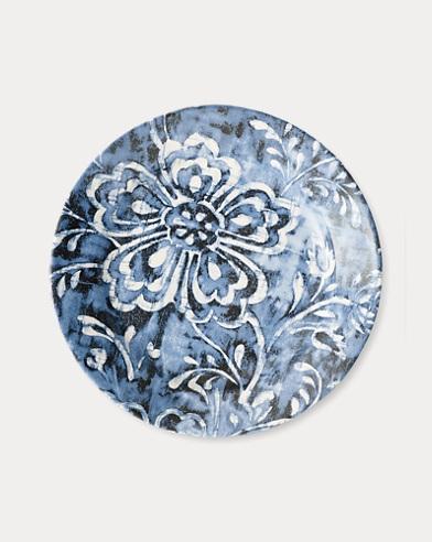 Côte d'Azur Floral Salad Plate