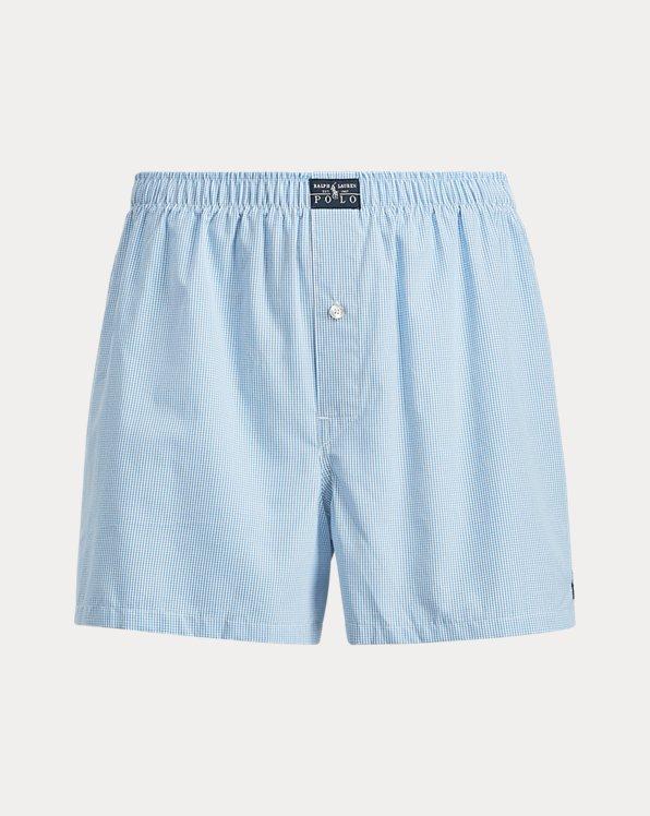 Shorts mit Windowpane-Karo