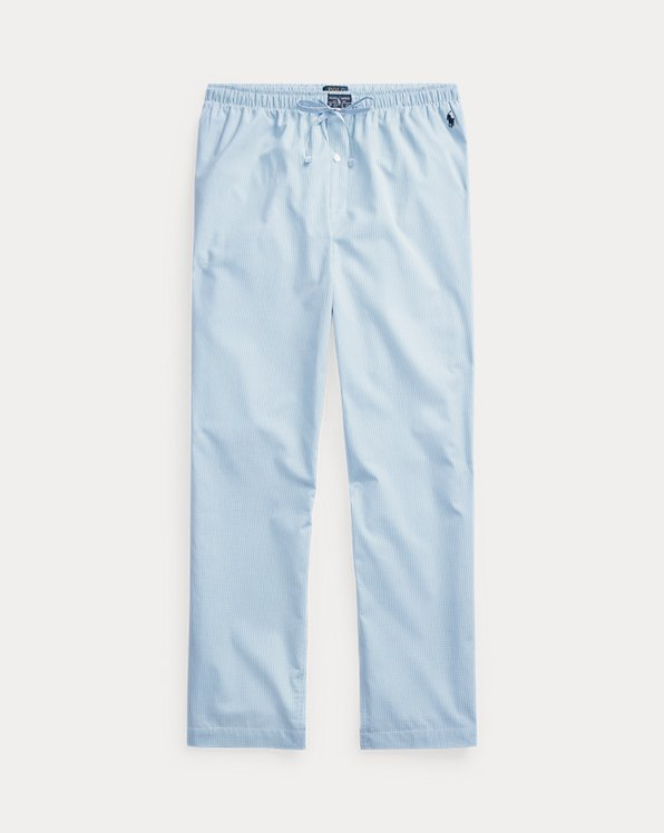 Gingham Cotton Sleep Trouser
