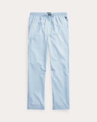 Pantaloni da notte in cotone vichy