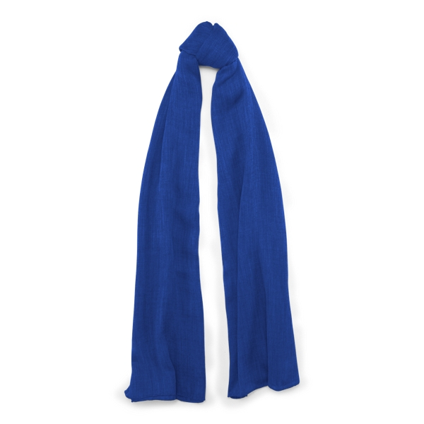Ralph Lauren Cashmere Scarf Royal One Size