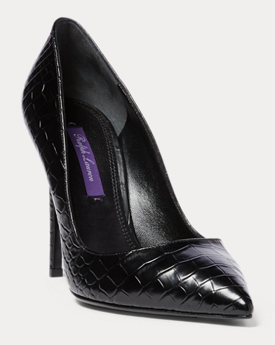 Celia Alligator Pump
