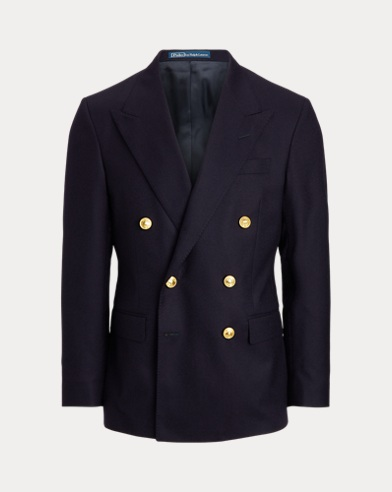 Polo Doeskin Wool Sport Coat