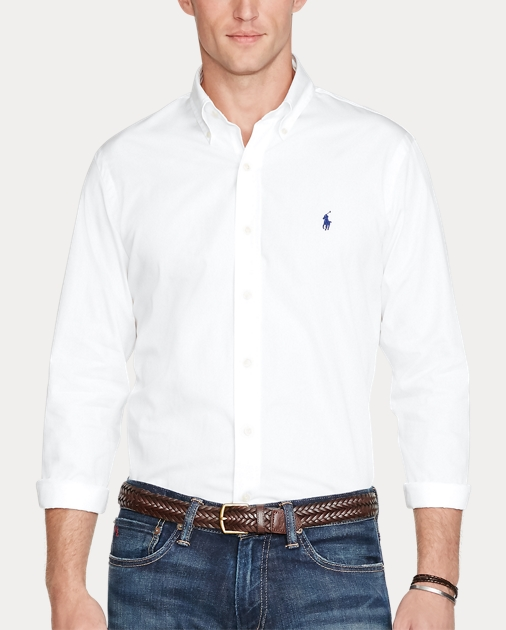 7f13f134 Classic Fit Cotton Shirt | Classic Fit Casual Shirts | Ralph Lauren